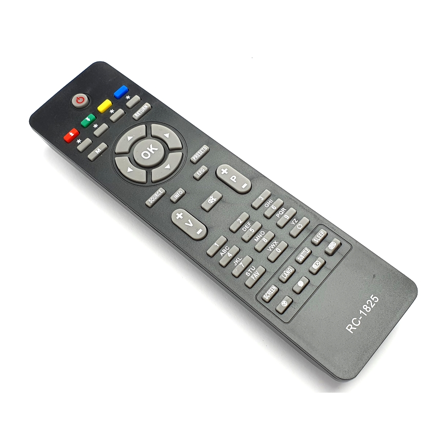 DIS VESTEL RC1825 Дистанционно RC1825 JVC VESTEL SHARP TOSHIBA HITACHI SANG CROWN FINLUX TELEFUNKEN