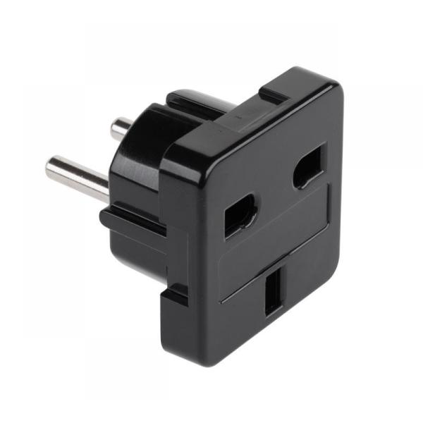 PRE UK/BG 220V AC ZC-31 BLACK Преход UK/BG 220V AC ЧЕРЕН ZC-31UK