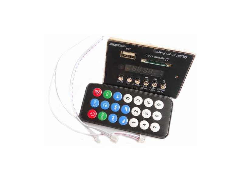 KIT MP3/FM/SD/USB Платка модул MP3/FM/SD/USB