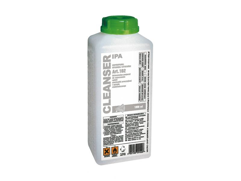Течност изопропилов алкохол IPA PLUS MICROCHIP 1000ml.